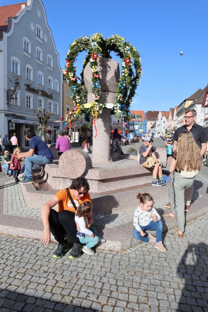 il centro di Günzburg