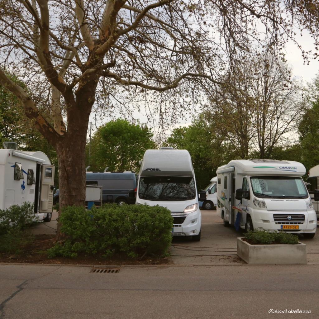 Area sosta camper Nördlingen