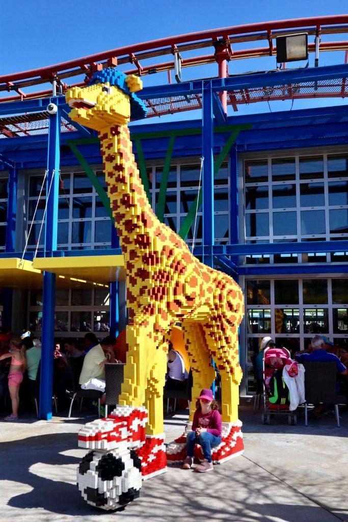 giraffa parco giochi legoland