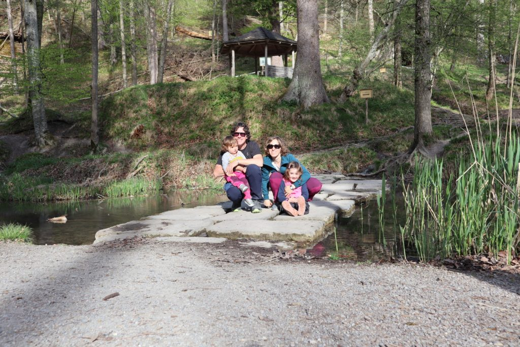Landsberg parco naturale, i percorsi kneipp
