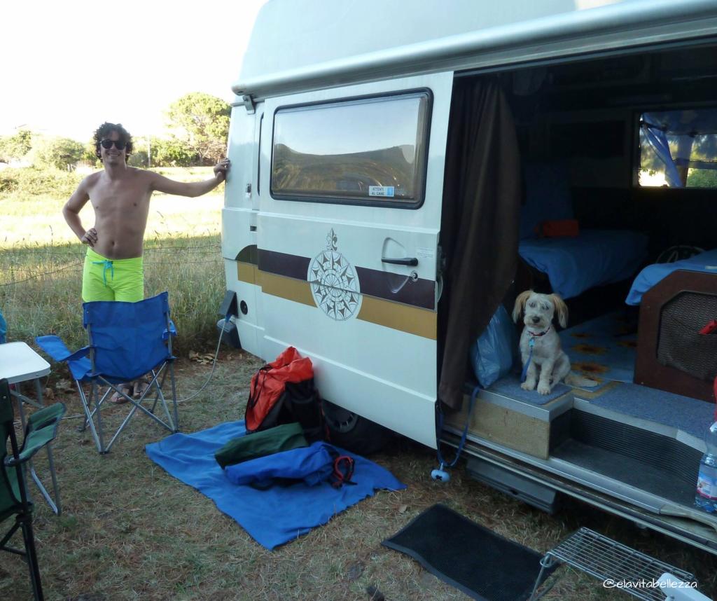 Margot in camper