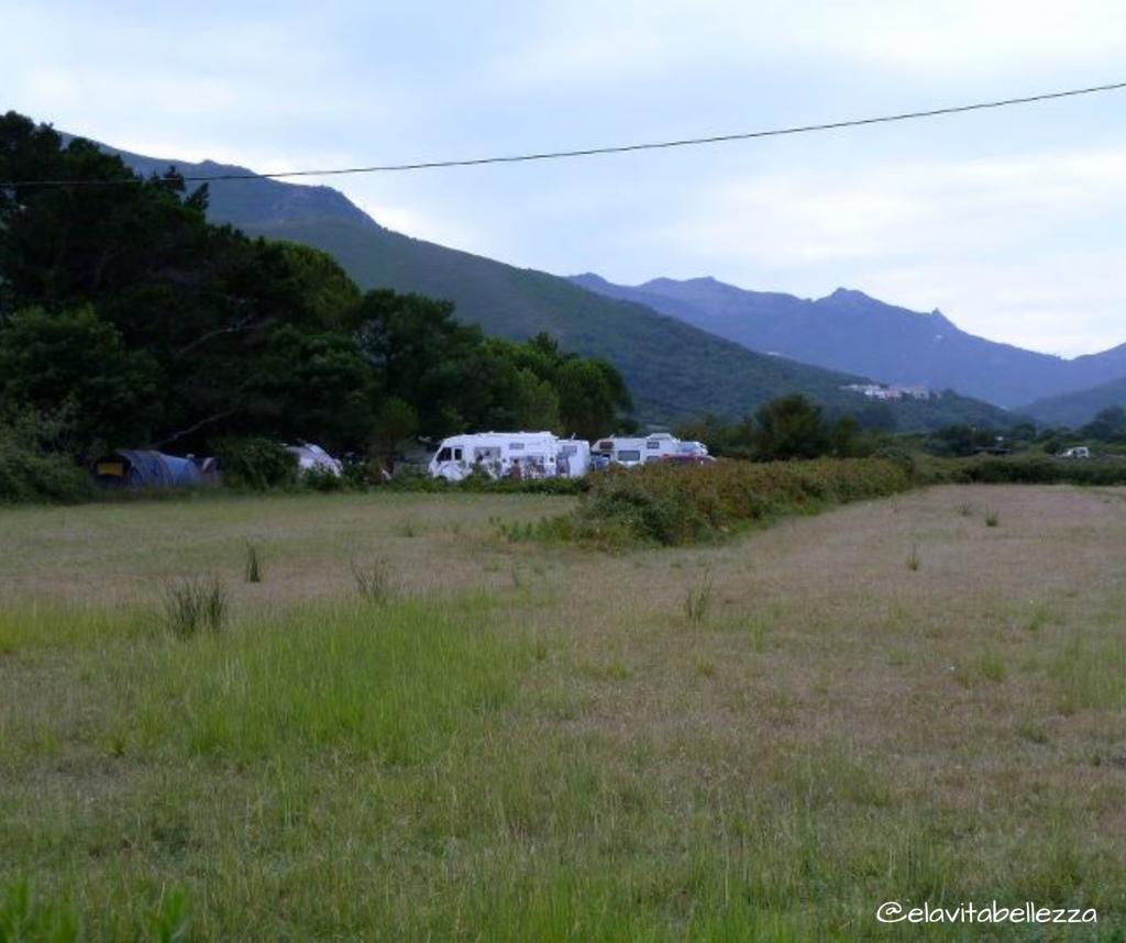 Camping Santa Marina a Sanata Severa, Cap Corse dito