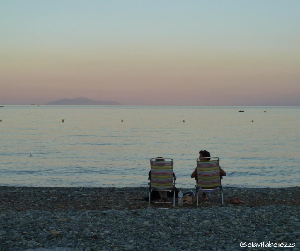 La spiaggia di Santa Severa, Cap Corse dito