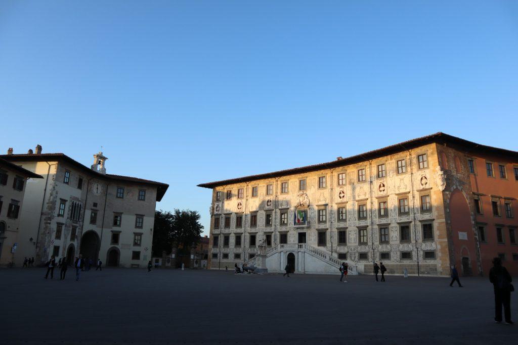 Piazza dei cavalieri, Pisa città della Torre