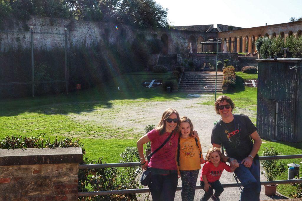 Pisa città della Torre, giardino scotto