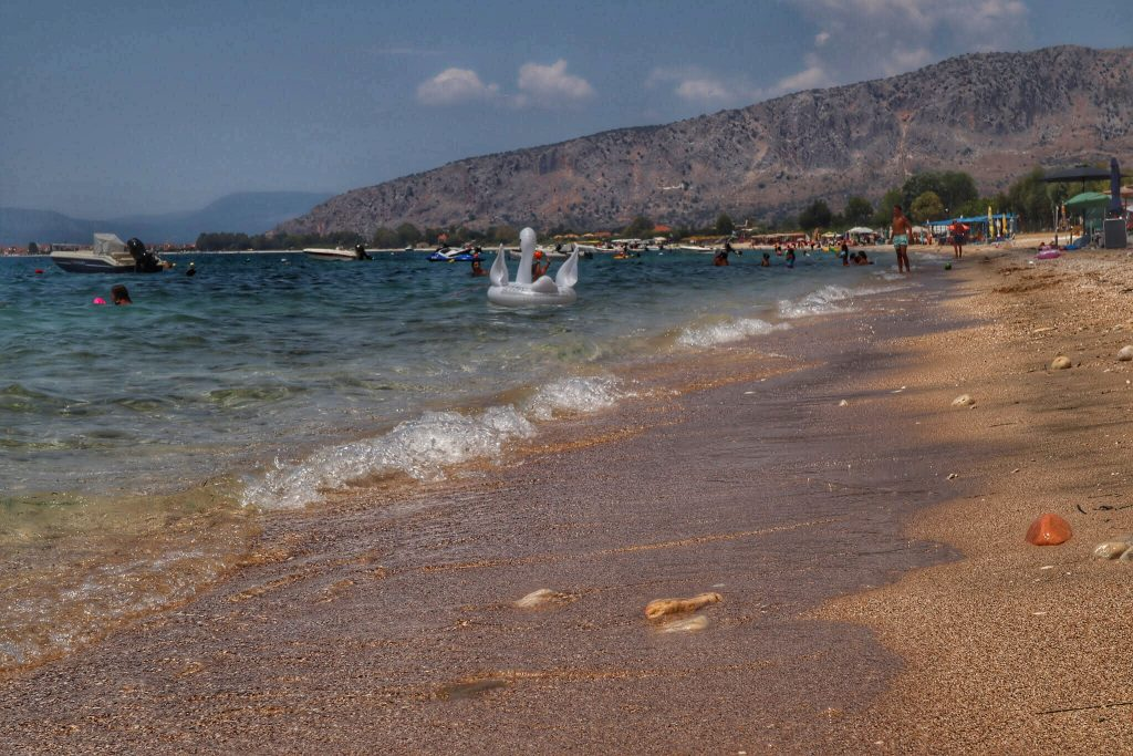 Il mare di Myticas, Grecia