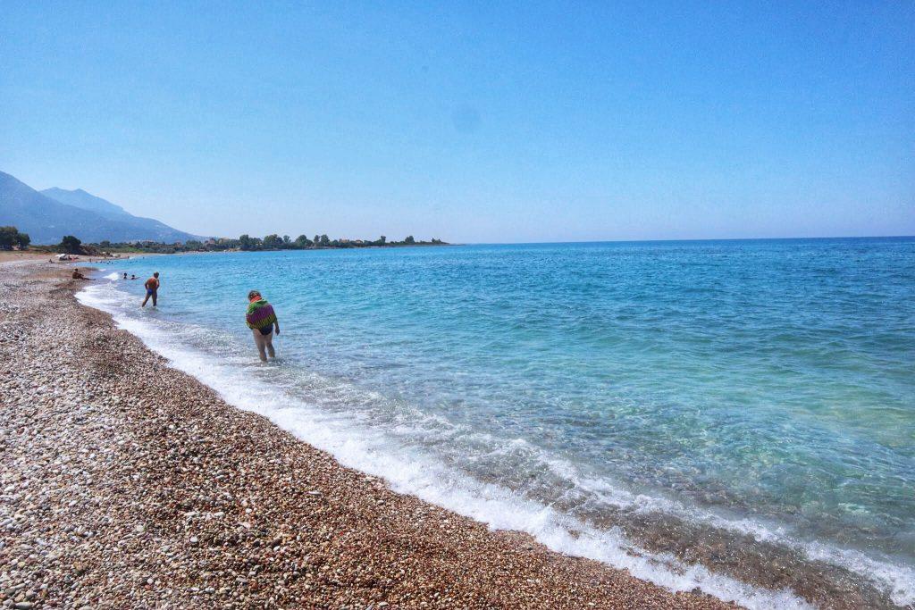 Spiaggia di Kalo Nero, Peloponneso