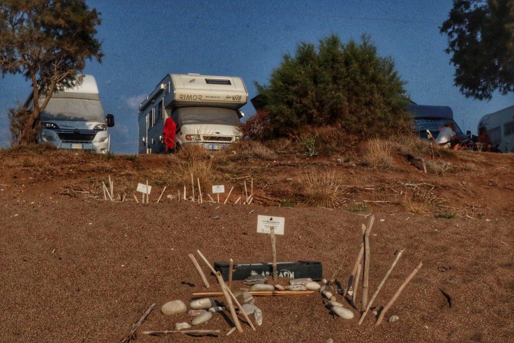 I nidi di tartarughe a Kalo Nero, Peloponneso