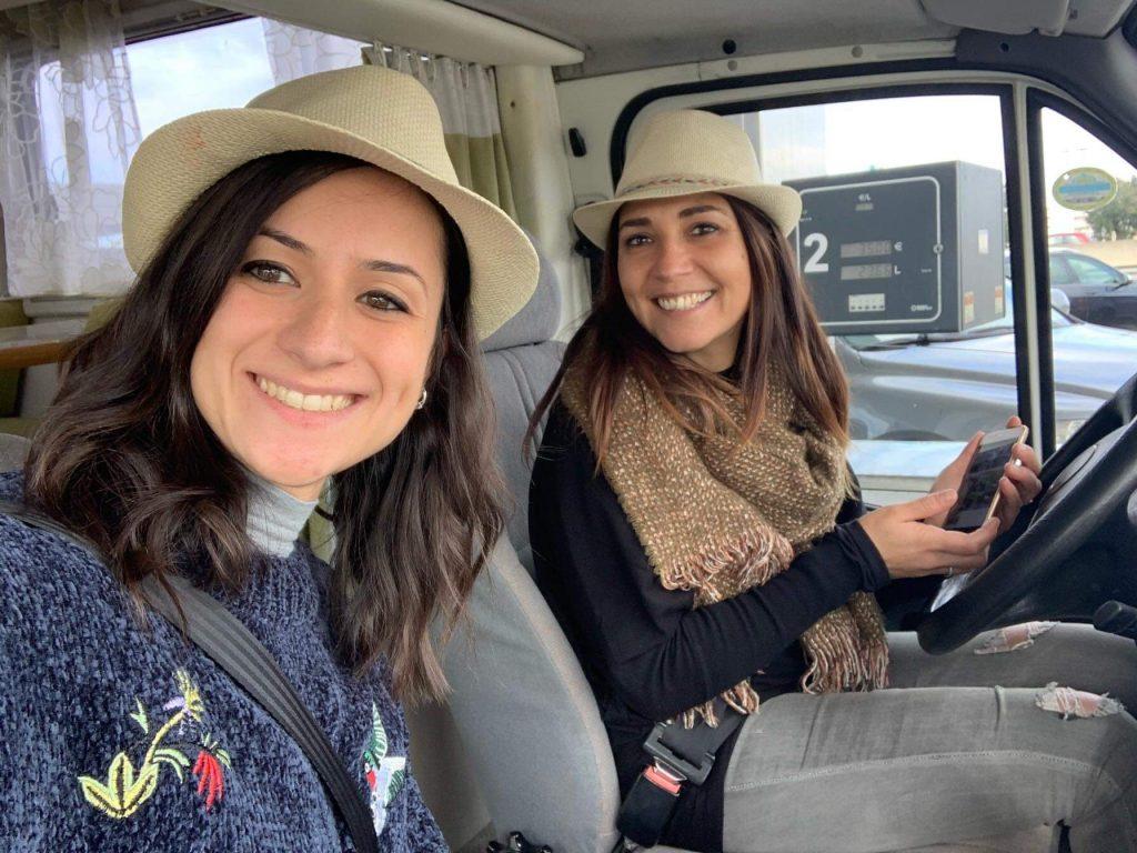 Antonella e Daniela di Camper Evviva