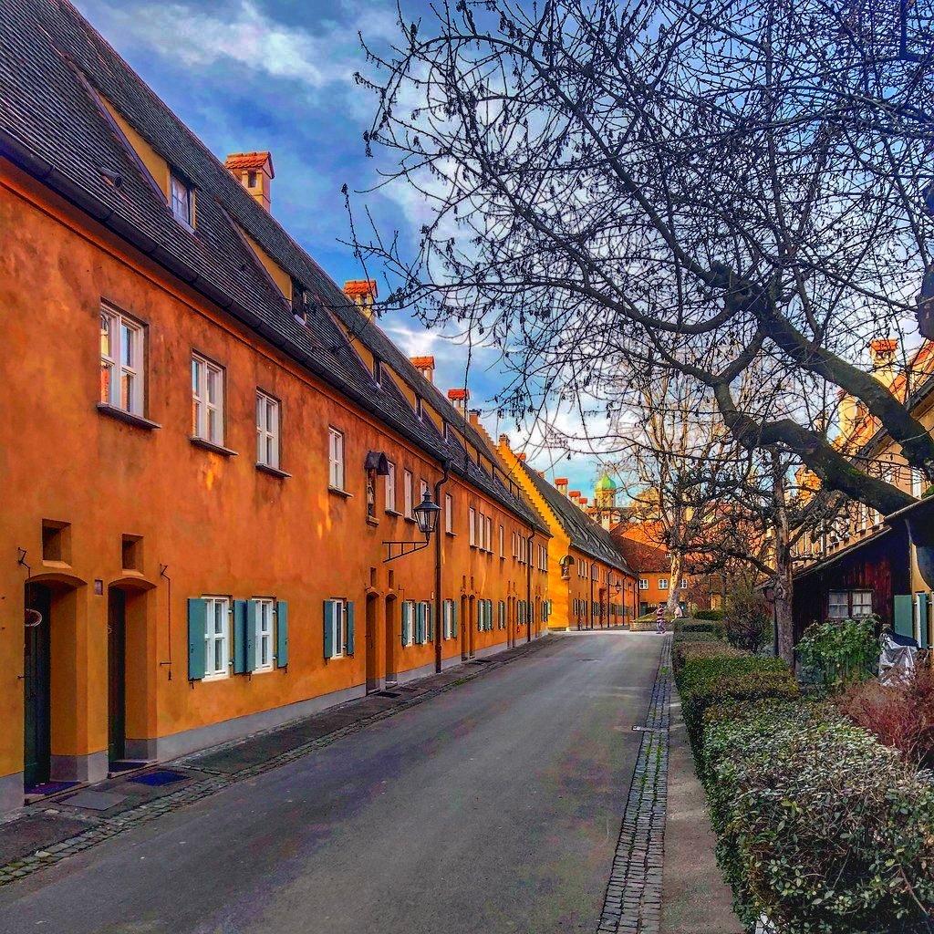 Fuggerei, Augsburg