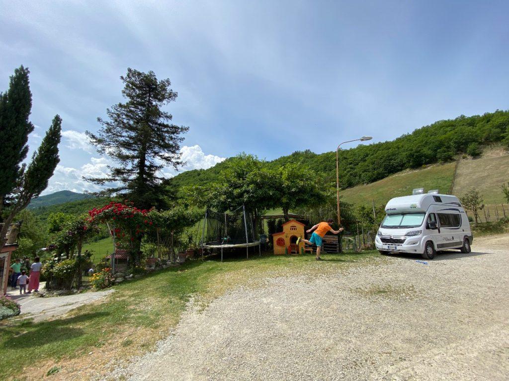 Romagna in camper