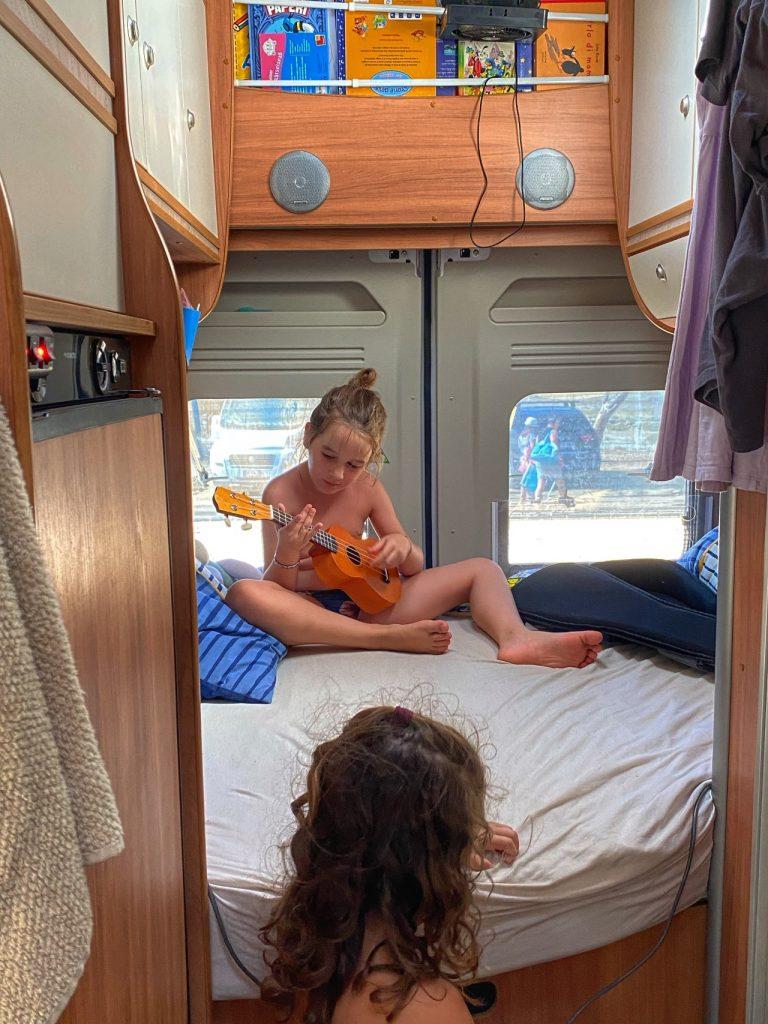 viaggi camper bambini